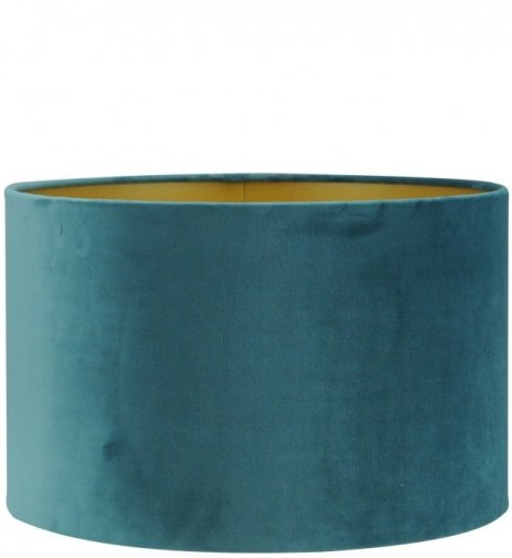 Cilinder - San Remo 10 ocean blue on gold