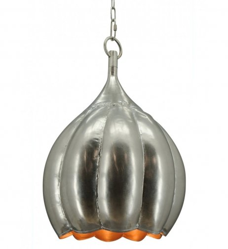 Hanglamp Pearl medium old silver