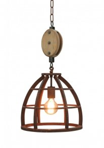 Hanglamp Lucca small rusty