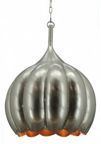 Hanglamp Pearl large old silver
